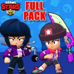 GTA 5 Mods Brawl Stars BIBI FULL PACK