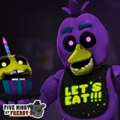 GTA 5 Mods FNAF Blacklight Chica