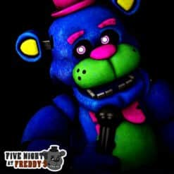 GTA 5 Mods FNAF Blacklight Freddy
