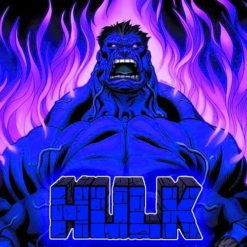 GTA 5 Mods Blue Hulk