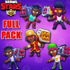 GTA 5 Mods Brawl Stars BROCK FULL PACK
