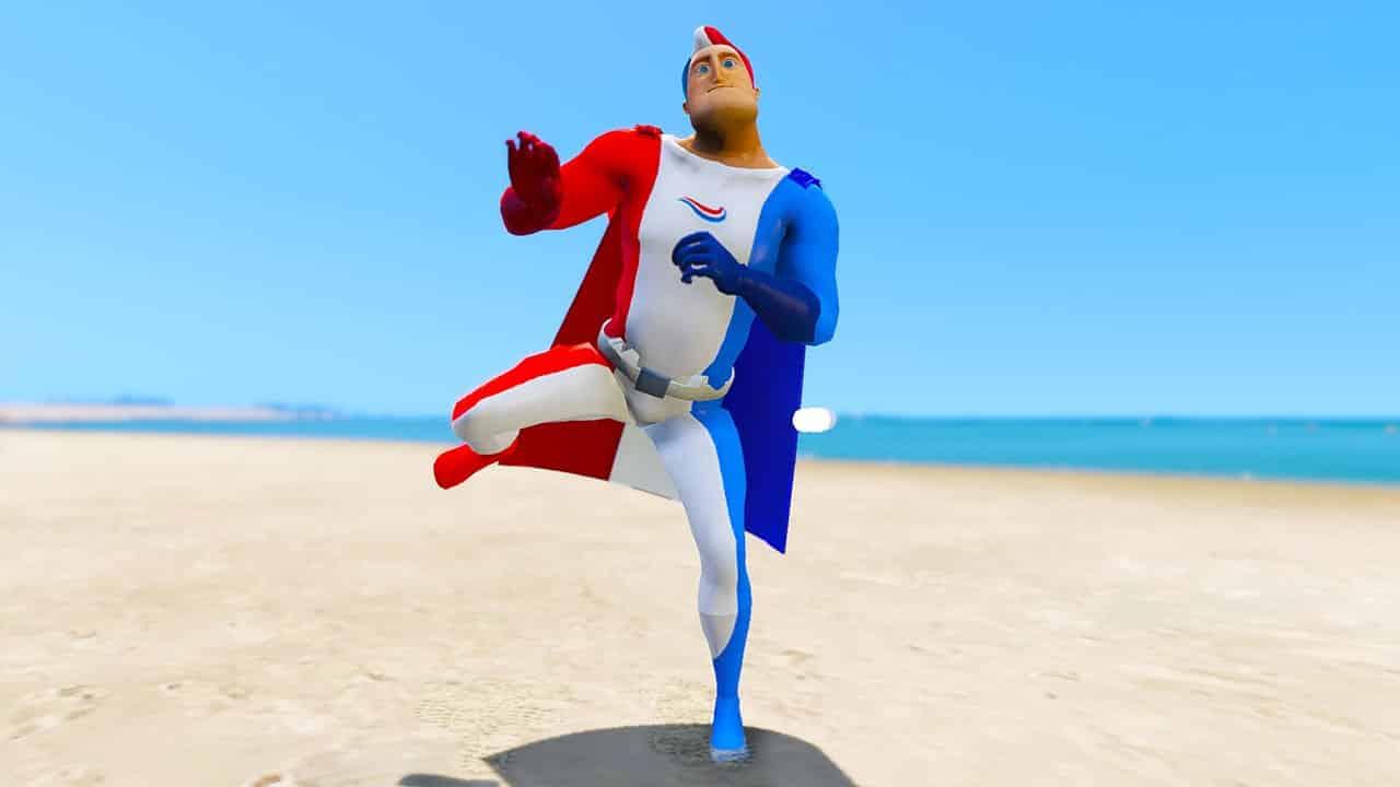 GTA 5 Mods Captain Aquafresh