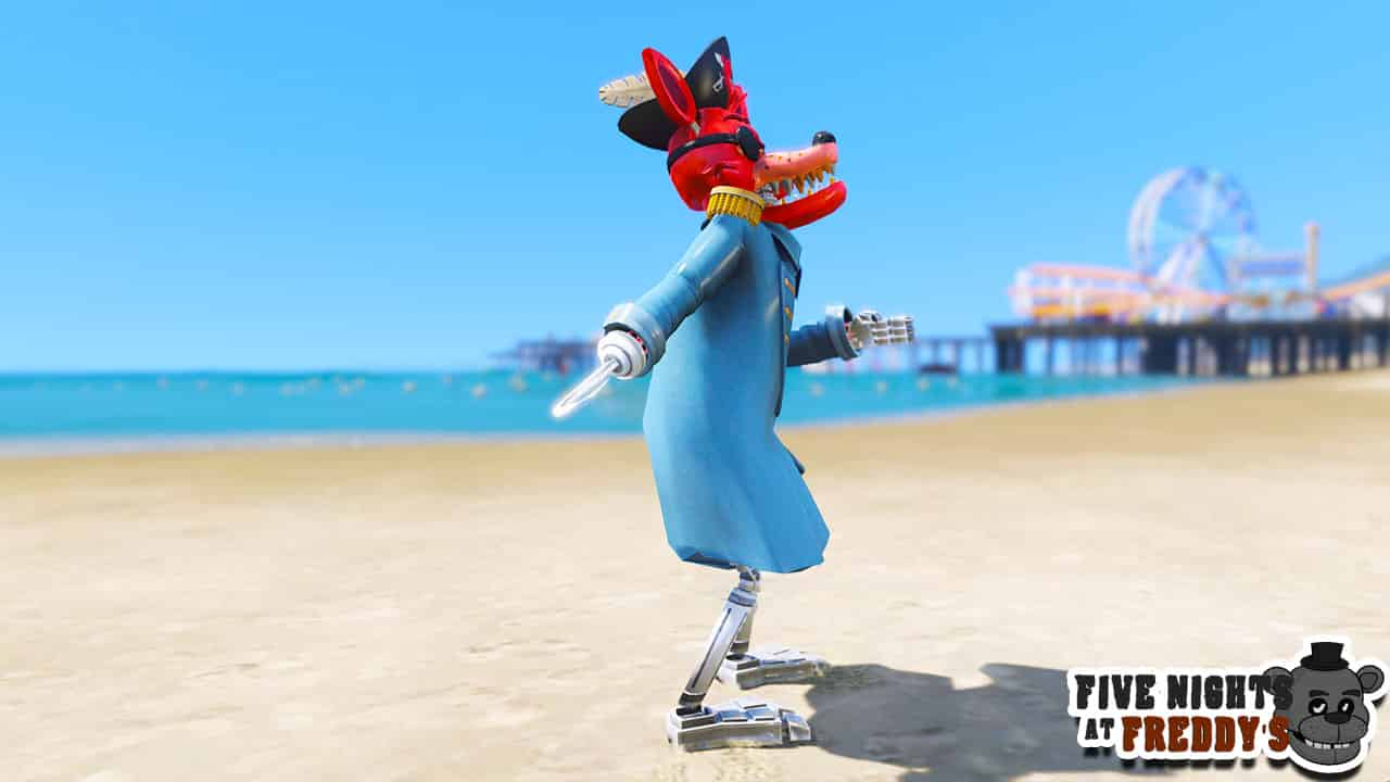 GTA 5 Mods FNAF Captain Foxy