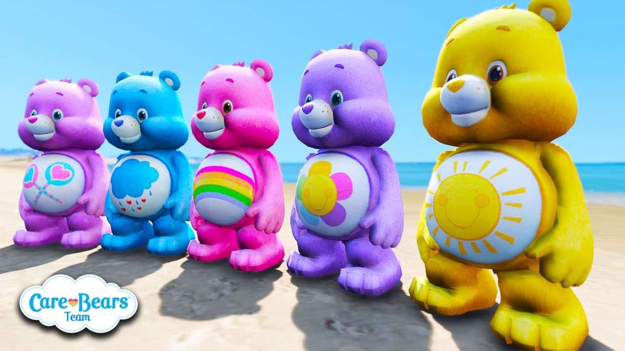 GTA 5 Mods Care Bears Music Band