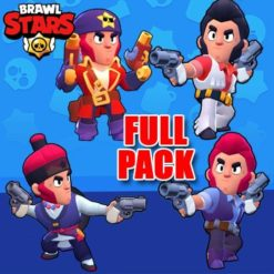 GTA 5 Mods Brawl Stars COLT FULL PACK