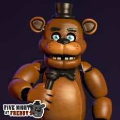 GTA 5 Mods FNAF Freddy