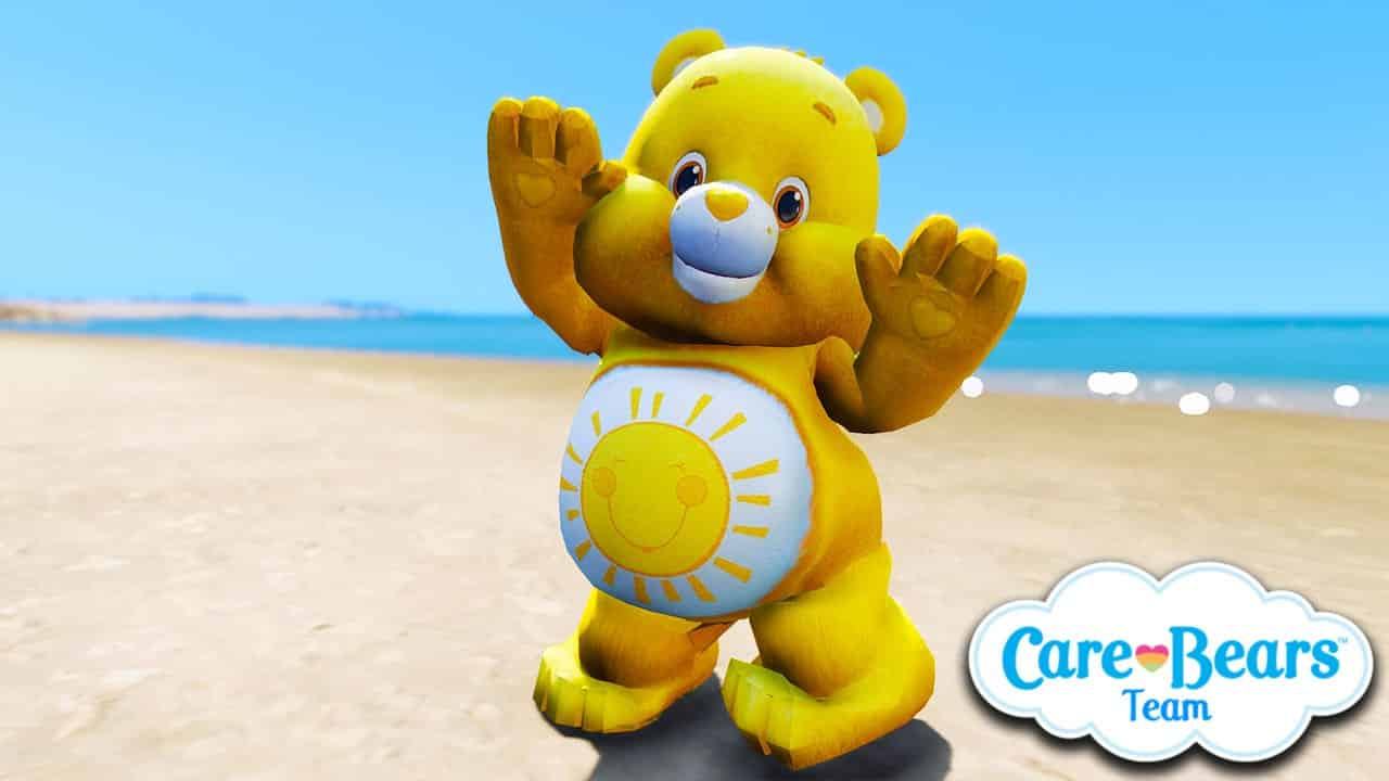 GTA 5 Mods Funshine Bear