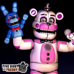 GTA 5 Mods FNAF Funtime Freddy