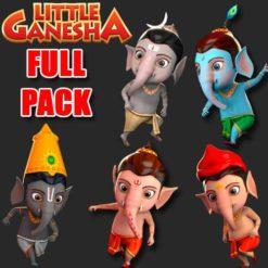 GTA 5 Mods Little Ganesha Full