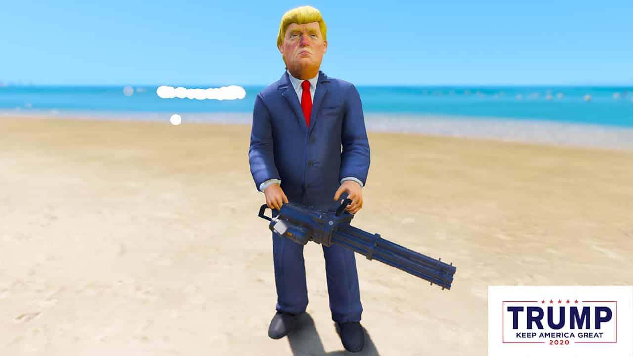 GTA 5 Mods Donald Triump