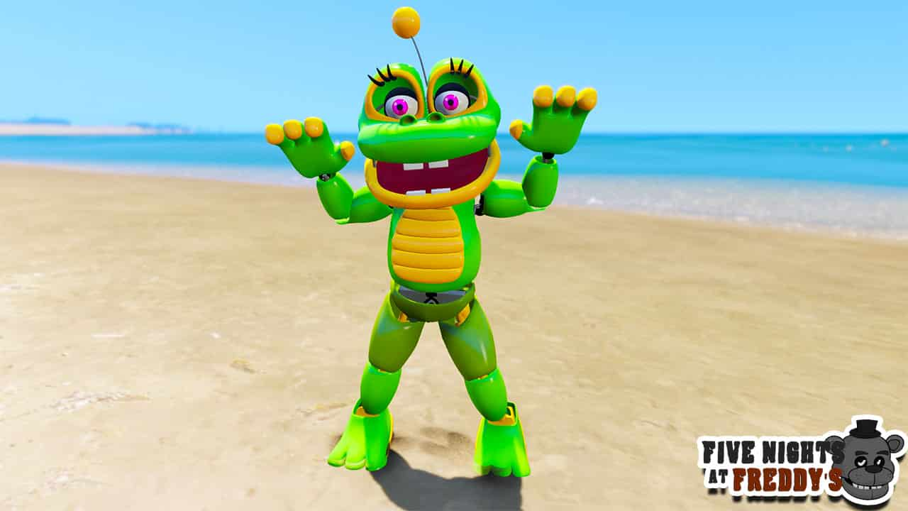 GTA 5 Mods FNAF Happy Frog