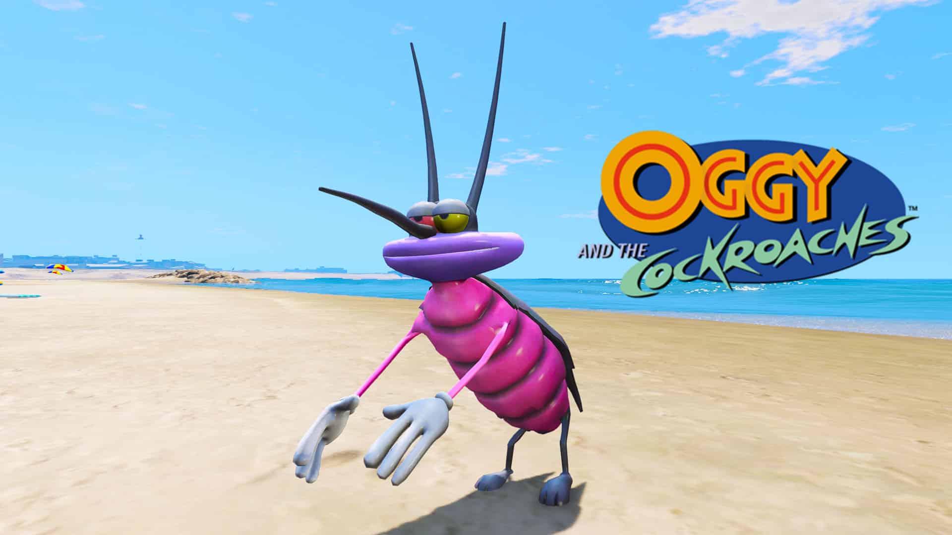 GTA 5 Mods Joey in Oggy