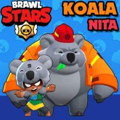 GTA 5 Mods Brawl Stars KOALA NITA