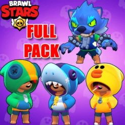 GTA 5 Mods Brawl Stars LEON FULL PACK