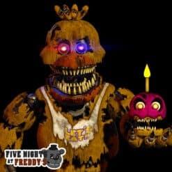 GTA 5 Mods FNAF Nightmare Chica
