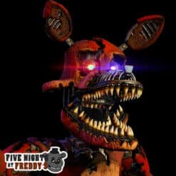 GTA 5 Mods FNAF Nightmare Foxy