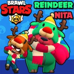 GTA 5 Mods Brawl Stars RED NOSED NITA