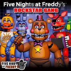 GTA 5 Mods FNAF Rockstar Gang