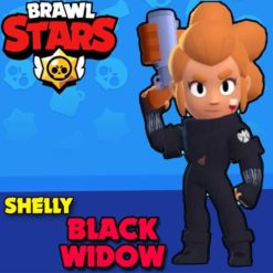 GTA 5 Mods Brawl Stars Black Widow Shelly