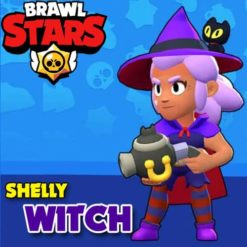 GTA 5 Mods Brawl Stars Witch Shelly