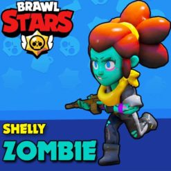 GTA 5 Mods Brawl Stars Zombie Shelly
