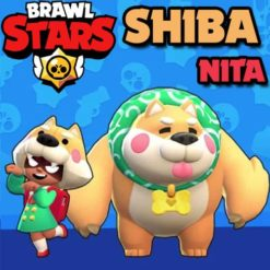 GTA 5 Mods Brawl Stars SHIBA NITA