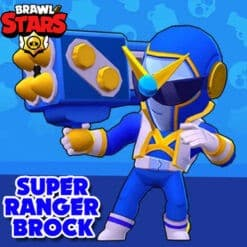 GTA 5 Mods Brawl Stars SUPER RANGER BROCK