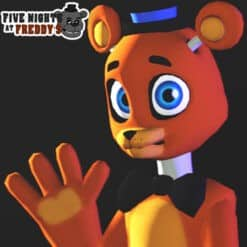 GTA 5 Mods FNAF DKC Freddy