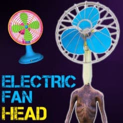 GTA 5 Mods Electric Fan Head