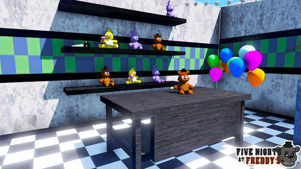 GTA 5 Mods Five Nights At Freddy MAP