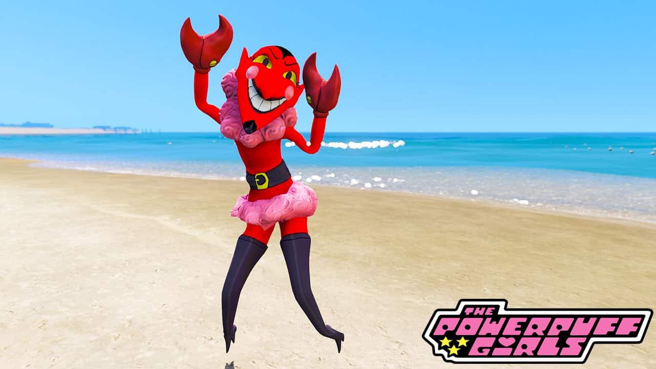 GTA 5 Mods HIM in Powerpuff Girls