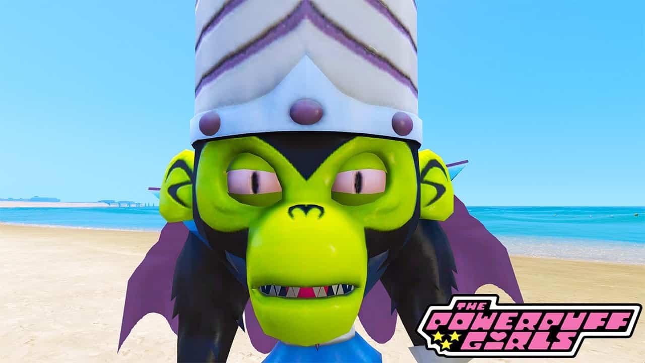 GTA 5 Mods Mojo Jojo in Powerpuff Girls