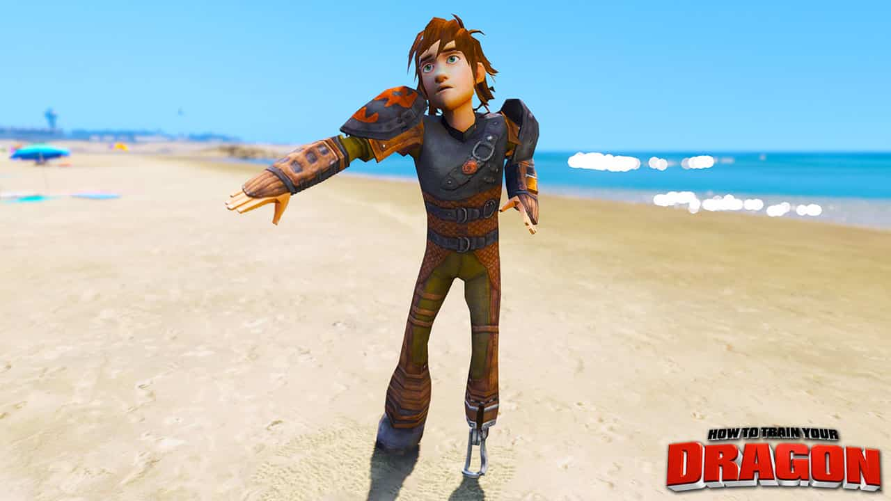 GTA 5 Mods Older Hiccup in How To Train Your Dragon