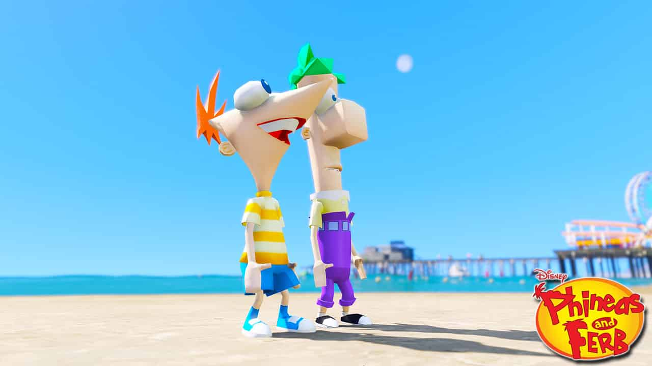 GTA 5 Mods Phineas and Ferb
