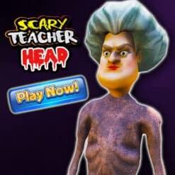 GTA 5 Mods Scary Teacher Head
