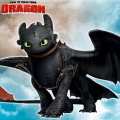 GTA 5 Mods Toothless in How To Train Your Dragon
