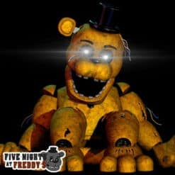 GTA 5 Mods FNAF Withered Golden Freddy