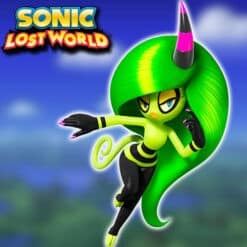 GTA 5 Mods ZEENA in Sonic Lost World