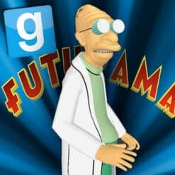 GTA 5 Mods Professor Farnsworth in Futurama