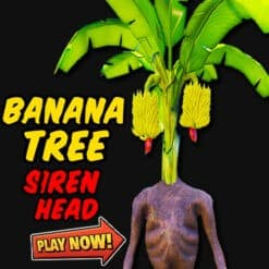 GTA 5 Mods Banana Tree Siren Head