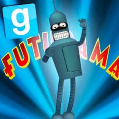 GTA 5 Mods Bender in Futurama