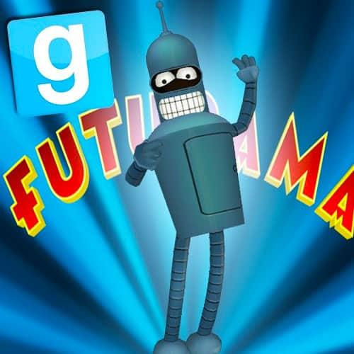 GTA 5 Mods Bender in Futurama