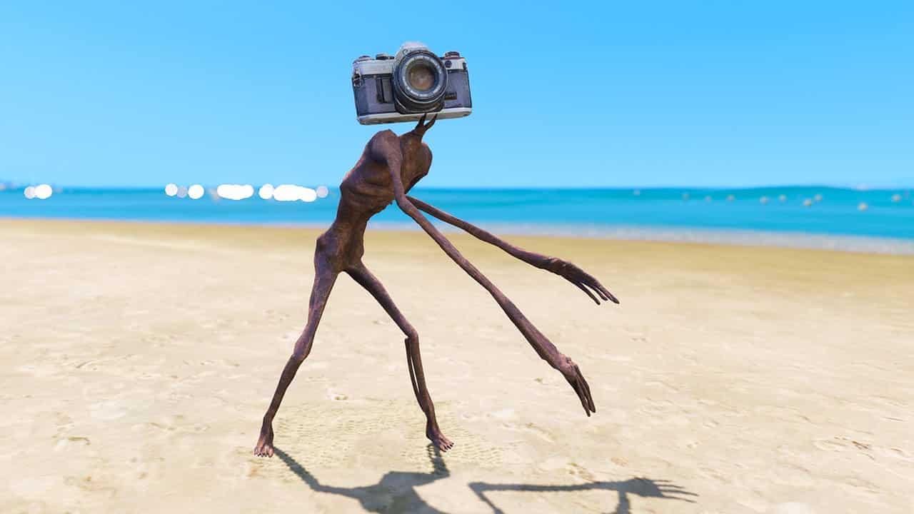 GTA 5 Mods Camera Siren Head