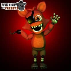 GTA 5 Mods FNAF Adventure Foxy