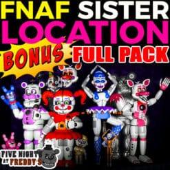 GTA 5 Mods FNAF Sister Location FULL PACK