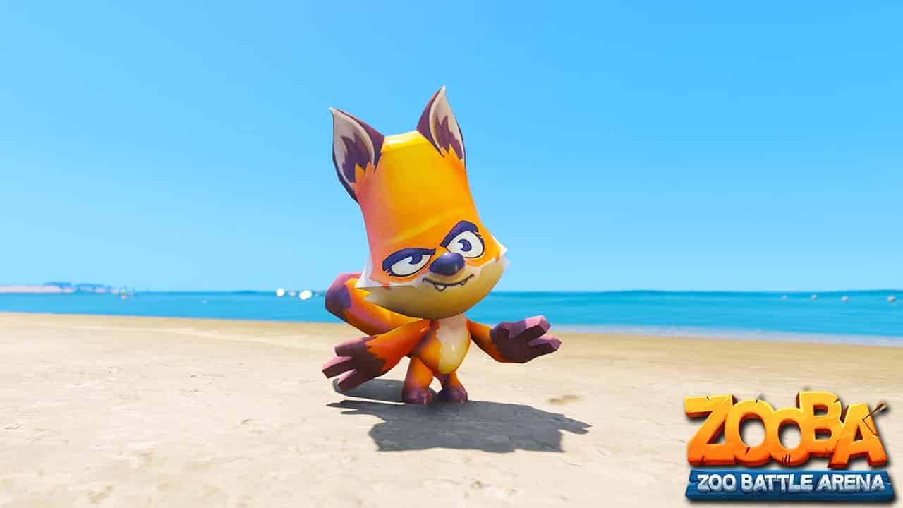 GTA 5 Mods Fox in ZOOBA