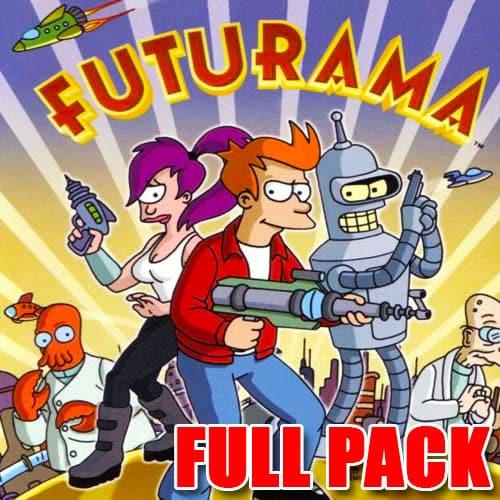 GTA 5 Mods Futurama FULL PACK