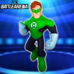 GTA 5 Mods Green Lantern in DC Battle Arena