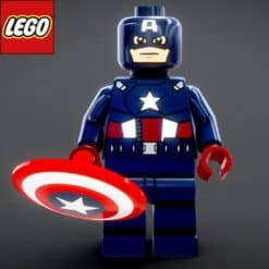 GTA 5 Mods LEGO Captain America Age Of Ultron