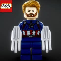 GTA 5 Mods LEGO Captain America (Infinity Wars)